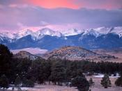 The Sangre de Cristo Range Colorado 1600 x 1200